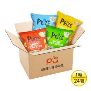 Prize 爆米片_4種口味(海苔、起司、海鹽、辣味)