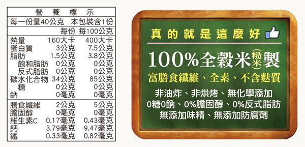 米餅_營養標示
