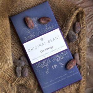 瑞士Original Beans 70%有機頂級黑巧克力片 70g