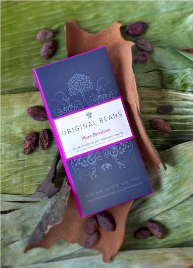 瑞士Original Beans 75%有機頂級黑巧克力片 70g