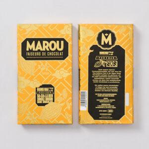 Marou 72%Dong Nai頂級黑巧克力片 80g