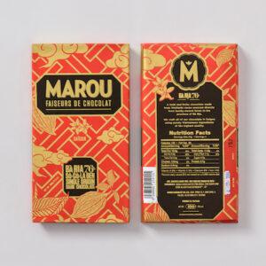 Marou 76%Ba Ria頂級黑巧克力片 80g