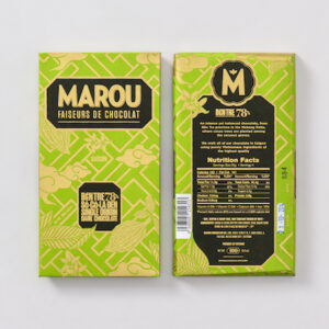 Marou 78%Ben Tre頂級黑巧克力片 80g