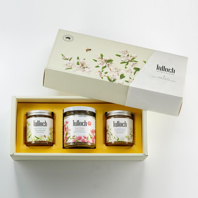 蜂蜜禮盒(三入組)_經典白_800