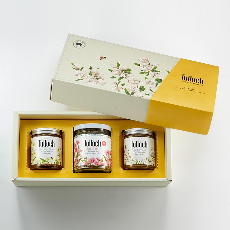 蜂蜜禮盒(三入組)_經典黃_800