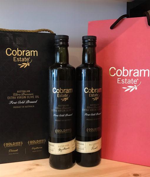 澳洲Cobram Estate特級初榨橄欖油500ml-2入禮盒(白葉、皮夸爾風味)
