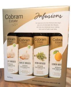 Cobram Estate風味特級初榨橄欖油4入禮盒
